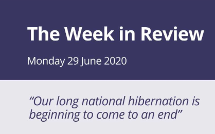 The Week in Review Monday 29th June