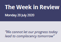 Week in Review Monday 20th July