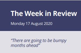 The Week in Review Monday 17th August