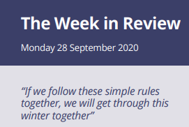 The Week in Review Monday 28th September