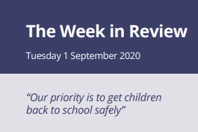The Week in Review Tuesday 1st September