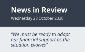 News in Review Wednesday 28 October 2020