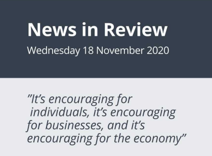 News in Review Wednesday 18th November 2020