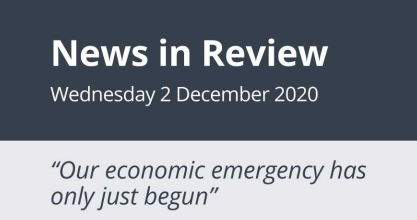 News in Review Wednesday 2nd December 2020