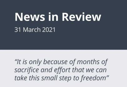 News in Review Wednesday 31st March 2021