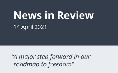 News in Review Wednesday 14th April 2021