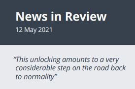 News in Review Wednesday 12th May 2021
