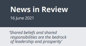 News in Review Wednesday 16th June 2021