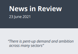News in Review Wednesday 23rd June 2021