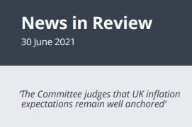 News in Review Wednesday 30th June 2021