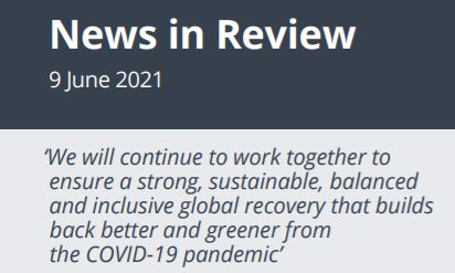News in Review Wednesday 9th June 2021