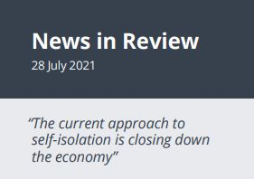 News in Review Wednesday 28th July 2021
