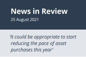 News in Review Wednesday 25th August 2021