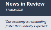 News in Review 4th August 2021