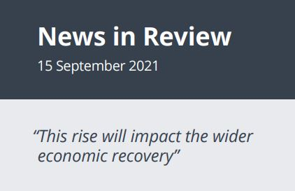 News in Review Wednesday 15th September 2021
