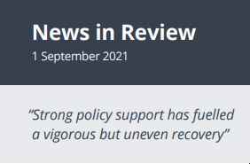 News in Review Wednesday 1st September 2021